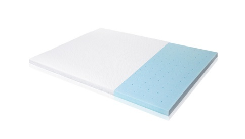 2.5 inch gel memory foam topper