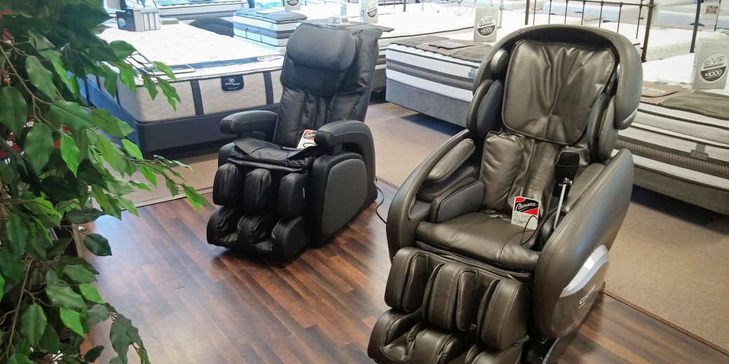here at the family circus especially with the staff we are selling off our two remaining cozzia massage chairs at our plaza boulevard store - Cozzia Massage Chair