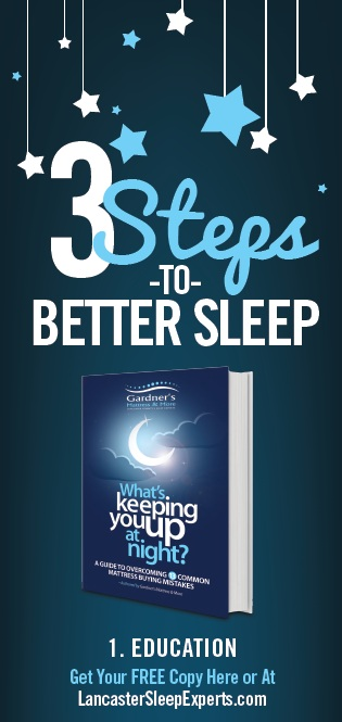 3 Steps to Better Sleep