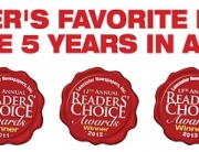 5 Readers Choice Logos