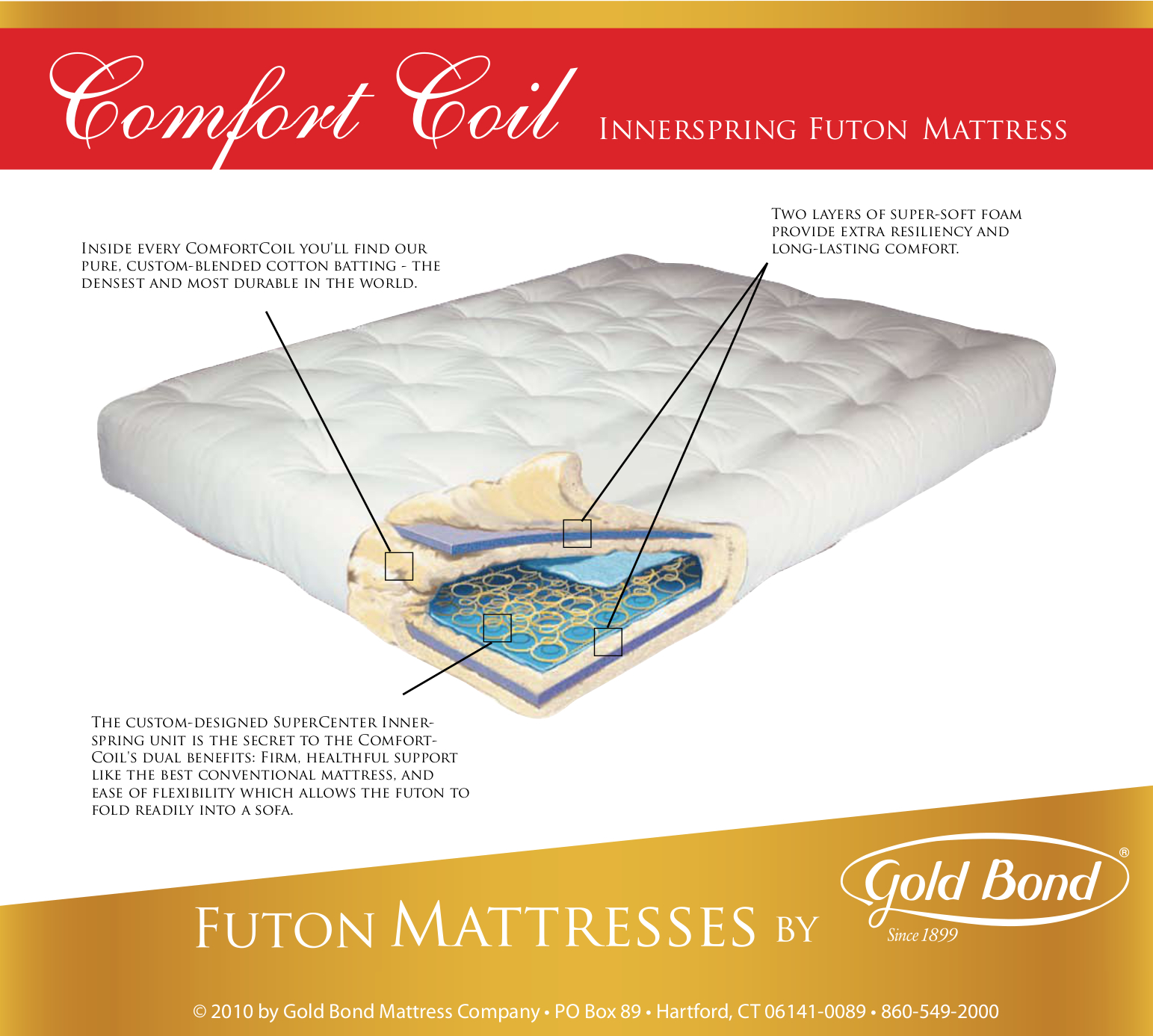 ii feather mattress products item comfortable threshold width mattresses gold f by b height futons company trim touch bond futon