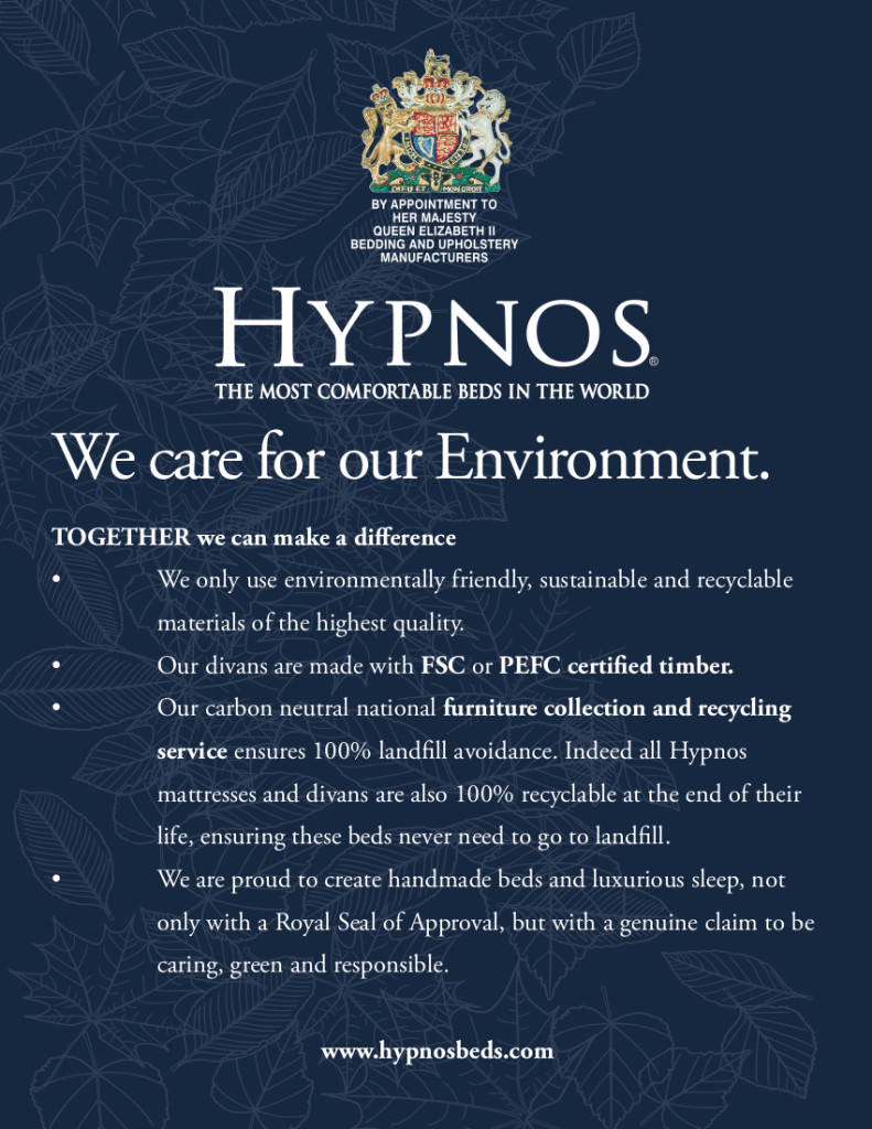 Hypnos Sustainability Flyer