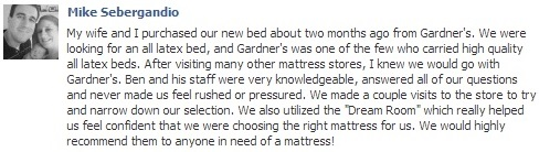 Dream Room - Gardner's Mattress & More - Lancaster, PA