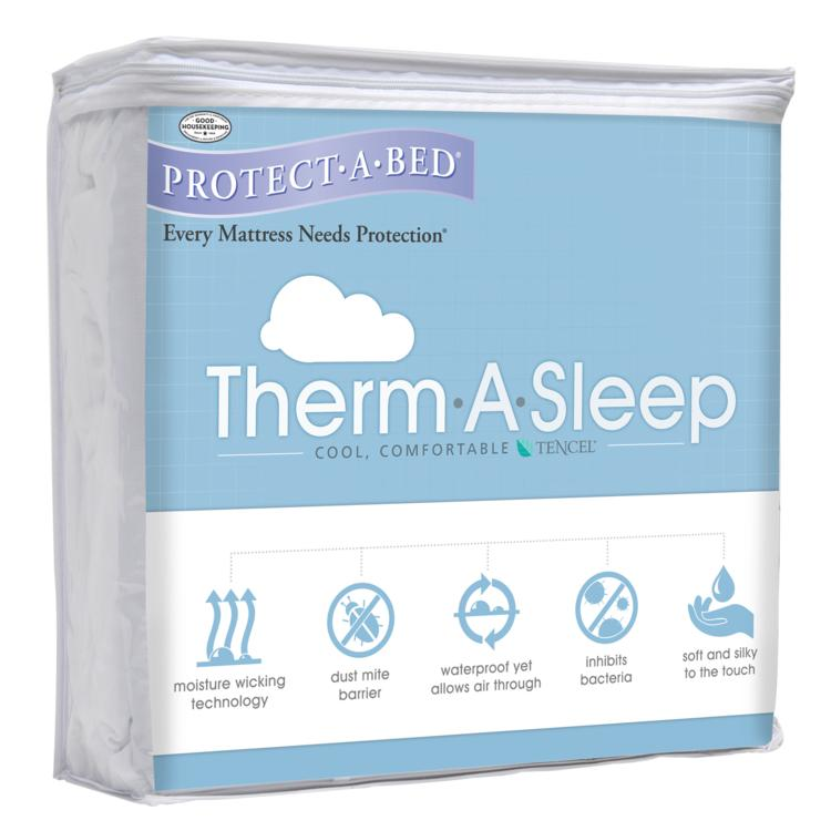Therm-A-Sleep Mattress Protector Pack Shot