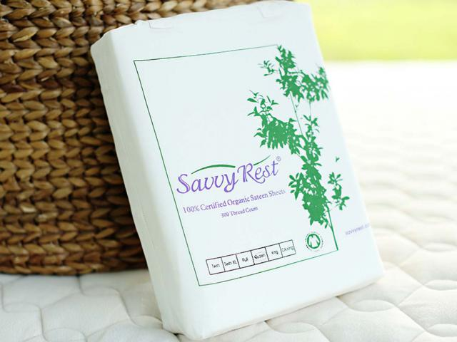 savvy rest cotton sheets