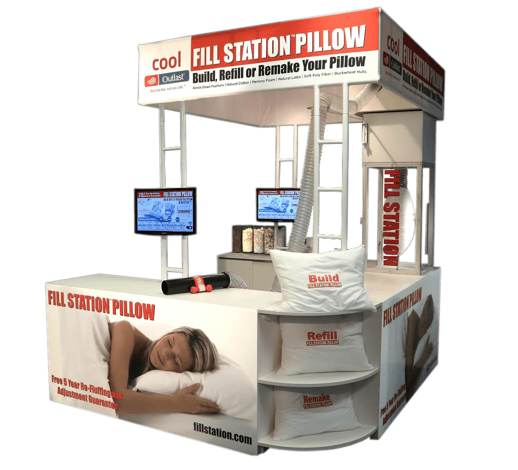 Gardner's Mattress and More Fill Station Pillow Kiosk
